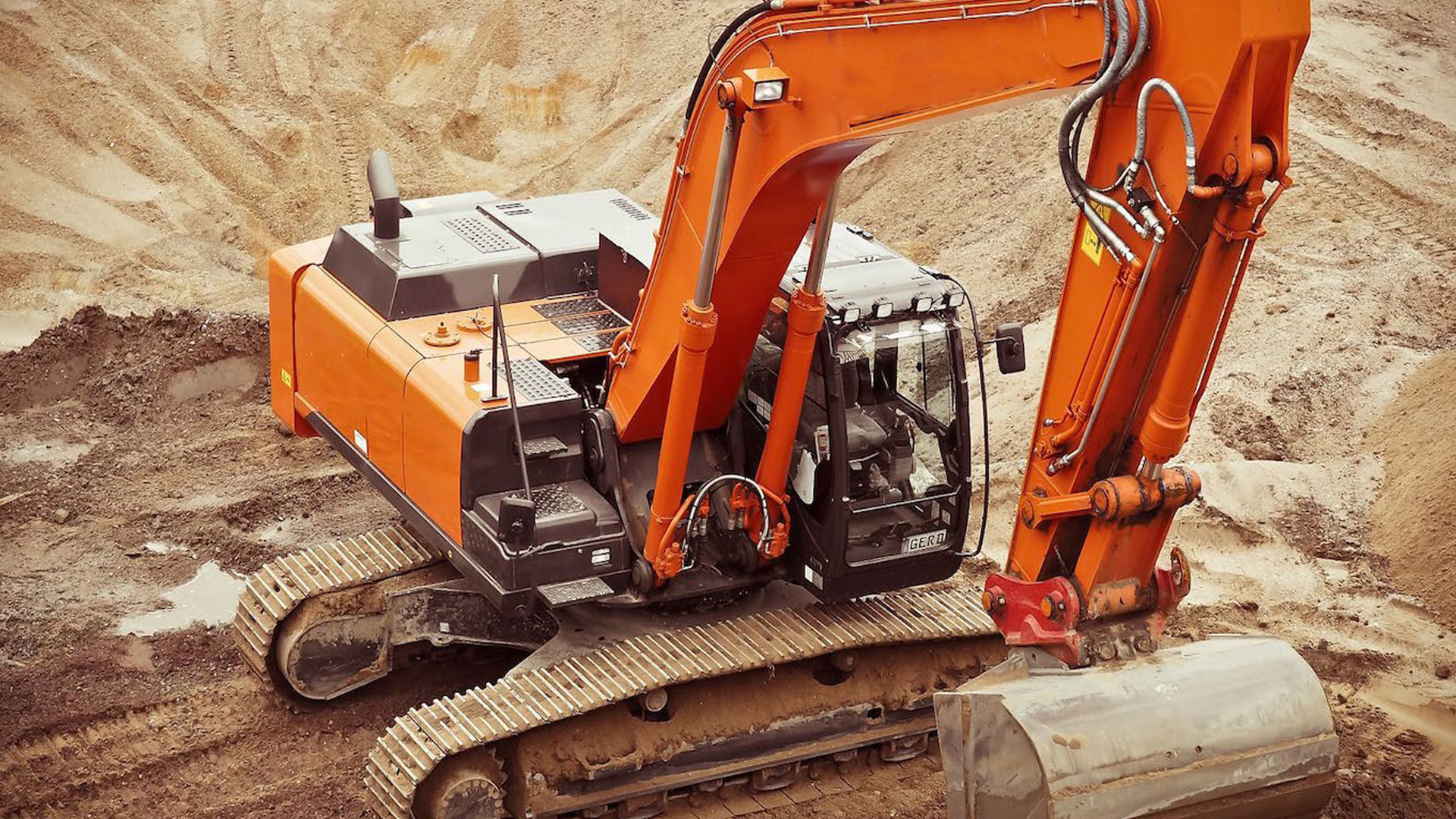 RIIMPO320F Conduct civil construction excavator operations